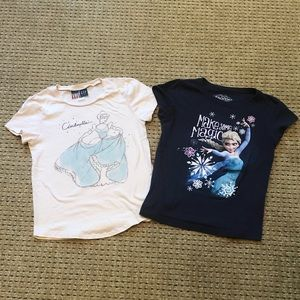 Two Girls Size L (14) T-shirt's